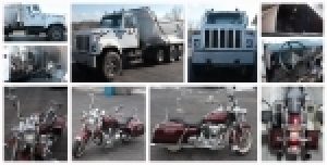 Court Ordered Dump Truck and Harley Davidson Auction