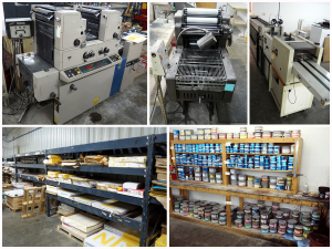 Commercial Printing Equipment And Supply Auction