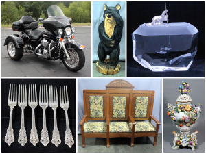 Steuben Crystal, Harley Davidson, Silver and More!