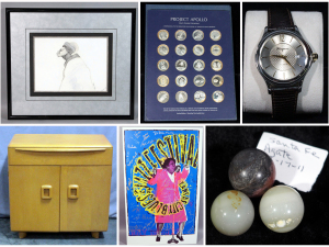 Furniture, Watches, Coins, Marbles, Jazz and More!