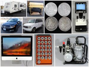 Travel Trailer, Tools, Toys and Timeless Treasures Auction Catalog
