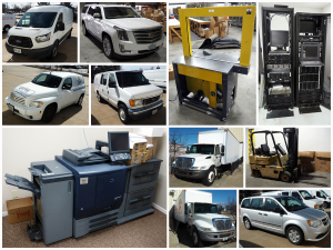 Global Postal Solutions Warehouse Liquidation Auction Catalog