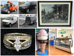 Bucket Truck, Elegant Living Decor, Ice Cream Shop and More Catalog
