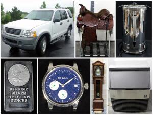 Heartland Tack, Luxury Watches, Coffee Shop & More Auction