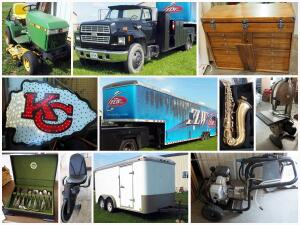 Gray Downsizing and Moving Peculiar Estate Auction Catalog