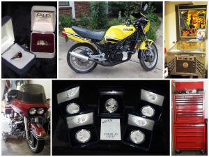 Condry Motorsports, Arcade, Currency, Man Cave Estate Auction Catalog