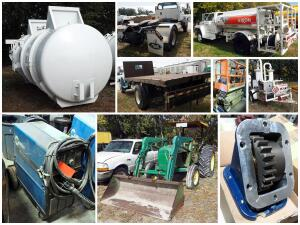 Garsite Excess Aviation And Fabrication Equipment Auction Catalog
