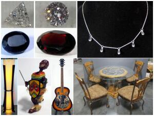 Gem Stone, Fine Furniture, Collectible Combined Estate Auction Catalog