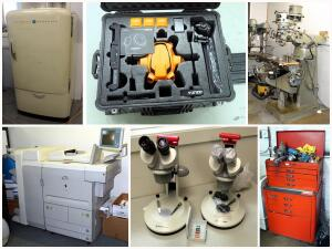Ken-A-Vision Drone And Microscope Mfg Liquidation