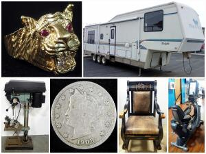 Tools And Jewels Combined Estate Auction