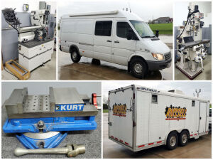 Milling And Machining Equipment Liquidation Auction