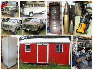 Cummins Military Surplus And Moving Auction