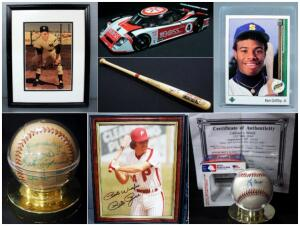 Swing For The Fences Sports Memorabilia Auction