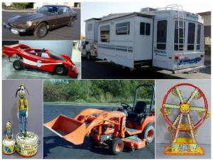 Toys For All, Big And Small Estate Auction
