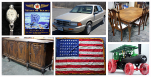 Antiques, Diecast Toys, Animal Cutouts & More Auction