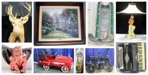Art, Taxidermy, Toys, Knives, Furniture and More Auction
