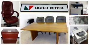 Lister Petter Office Liquidation Auction