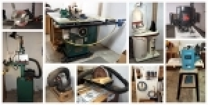 Wood Working Shop Liquidation Auction