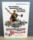 "Spartacus With Kirk Douglas And Lawrence Olivier From Universal Pictures, Original Movie Poster 41""H x 27""W"