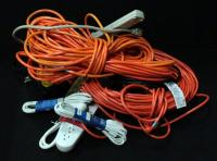 Extension Cords And Surge Protectors Some New In Package Contents Of Box