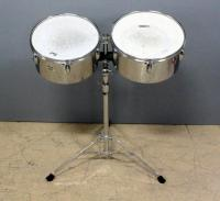 Pearl Percussion Primero Series Tom Drums on Double Stand