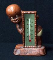 Black Americana Multi Products Inc 1949 Little Boy Thermometer