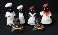 Black Americana Salt And Peppers Qty 3