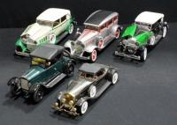 Signature Die-Cast 1:18 1934 Duesenberg, Signature 1930 Packard, Anson 1931 Peerless, Signature 1920 Cleveland Roadster And AM/FM Roadster Radio