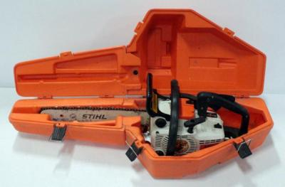"Stihl 011 AVT Chainsaw With 16"" Bar And Hard Case"