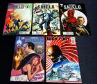 Agents of S.H.I.E.L.D. #1 Regular and 2 Different Variants, #2 Variant, Nick Fury #2 Variant, Total Qty 5