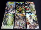 Batman / Teenage Mutant Ninja Turtles 1 2 4 5 6 + Batman / TMNT II #1 Eastman Variant Cover