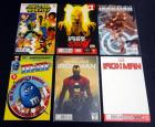 Iron Man Blank Cover #1, Invincible Iron Man 1 Fried Pie Variant, Invincible Iron Man 1, Iron Fist 1, Power Man And Iron Fist 1, 1 Variant