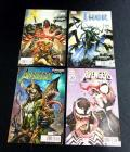 Avengers 11, Avengers No Surrender 687, XCable 5, Mighty Thor 23, Venomized Villain Covers