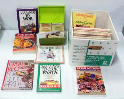 Large Lot Of Cookbooks