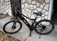 FLX Electric Mountain/Trail Bicycle With Charger And Key, Model # SRSLNTOUR.... More
