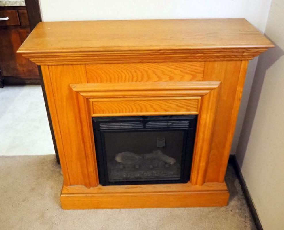Twin Star International Electric Fireplace Model 18ef003gaa 35