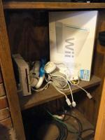 Wii Gaming Console Including Remotes Qty 4, Power Supply Cables, Gaming Eye Antena And More