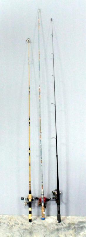 Fishing Rod With Garcia Abumatic 170 Reel, Shimano SpeedMaster