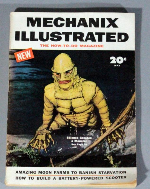 Mechanix Illustrated Magazine May 1954 With Creature From