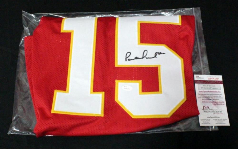 new style 01e32 16a3e Patrick Mahomes Kansas City Chiefs Authentic Autographed ...