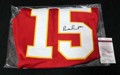 Patrick Mahomes Kansas City Chiefs Authentic Autographed Football Jersey With COA Size XL