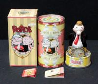 Fossil Popeye & Wimpy Limited Edition Pocket Watch Li 1599 In Case, Unused