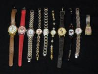Assortment Of Mickey Mouse Watches Total Qty 10