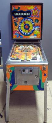 Williams Jive Time Pinball Machine With Keys, Powers Up, Unknown Working Order