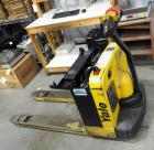 Yale Battery Powered Hydraulic Lift Truck Model #MPB040-EN24T2748, Load Max 4000 LBS, Batteries Not Charged, Unknown Working Order