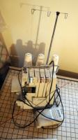 Singer Serger Model #14U With Foot Pedal, Power Cord And Thread Spools