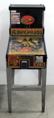 Sports Zone Interactive Bubblegum Pinball Machine, 25 Cents A Play