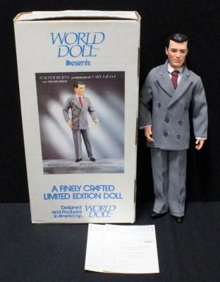 "World Doll Cary Grant As Walter Burns In ""His Girl Friday"" 18""H With COA In Box"