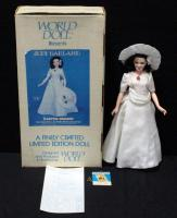 World Doll Judy Garland As Hannah Brown In Easter Parade With COA In Box