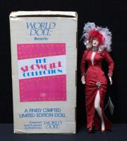 "World Doll ""Can-Can"" Showgirl Collection 19""H In Box"